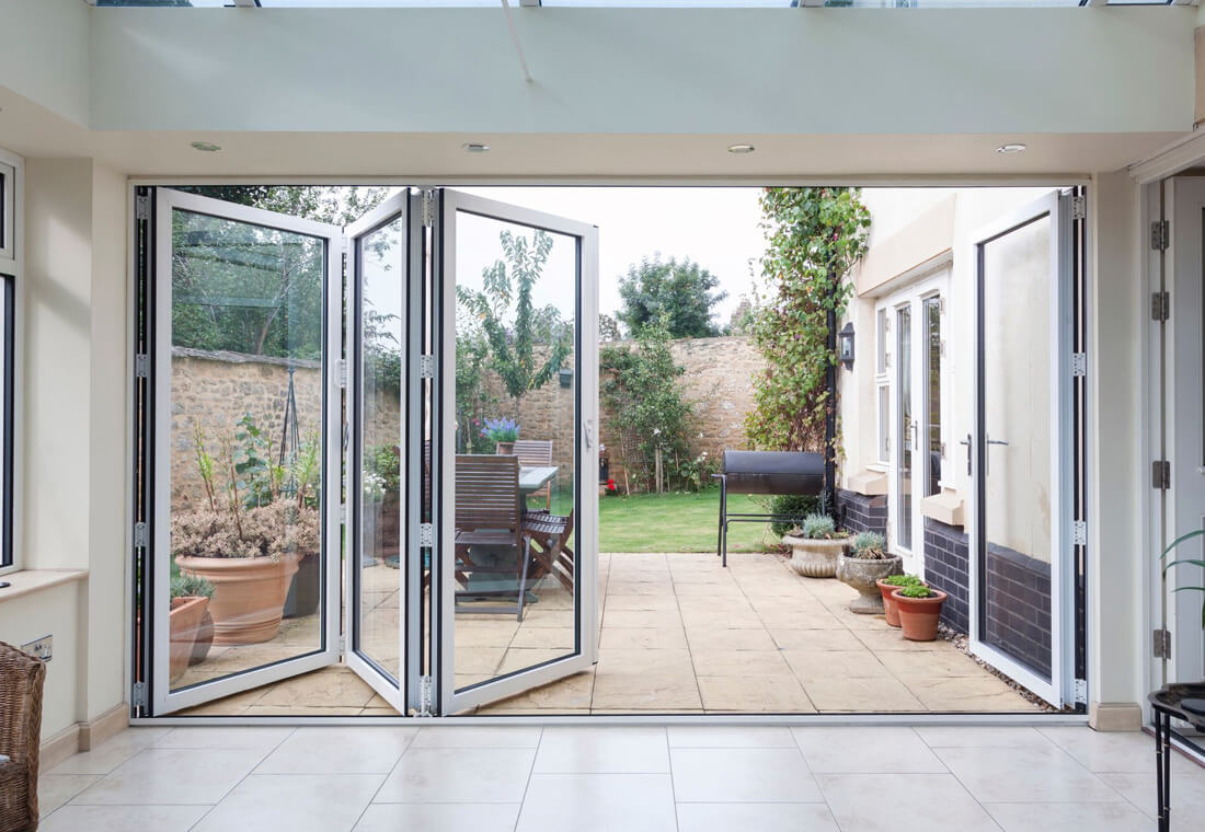 big sale 5bae8 b7bf2 Bifold Doors in the West Midlands | Leamore Windows