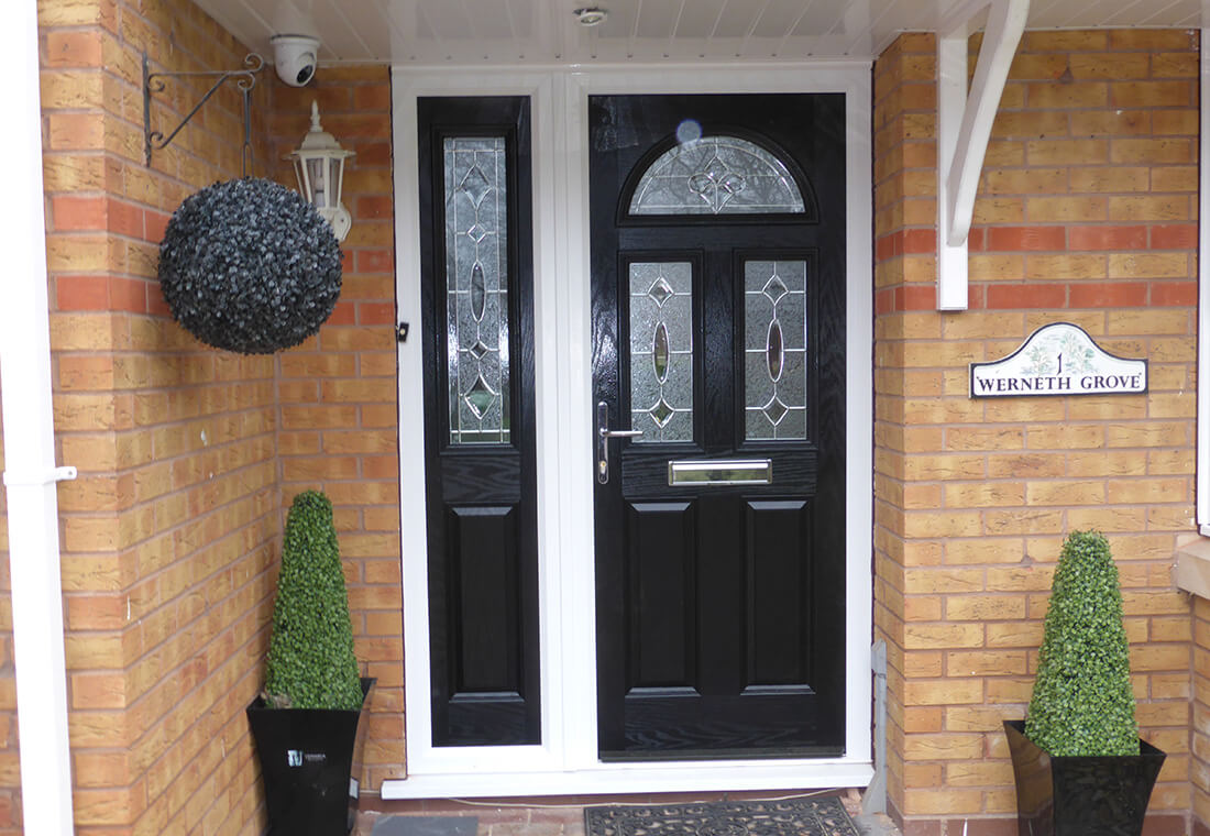 Image of: New Front Doors Back Doors West Midlands Leamore Windows