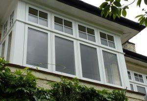 White Residence 9 bay window
