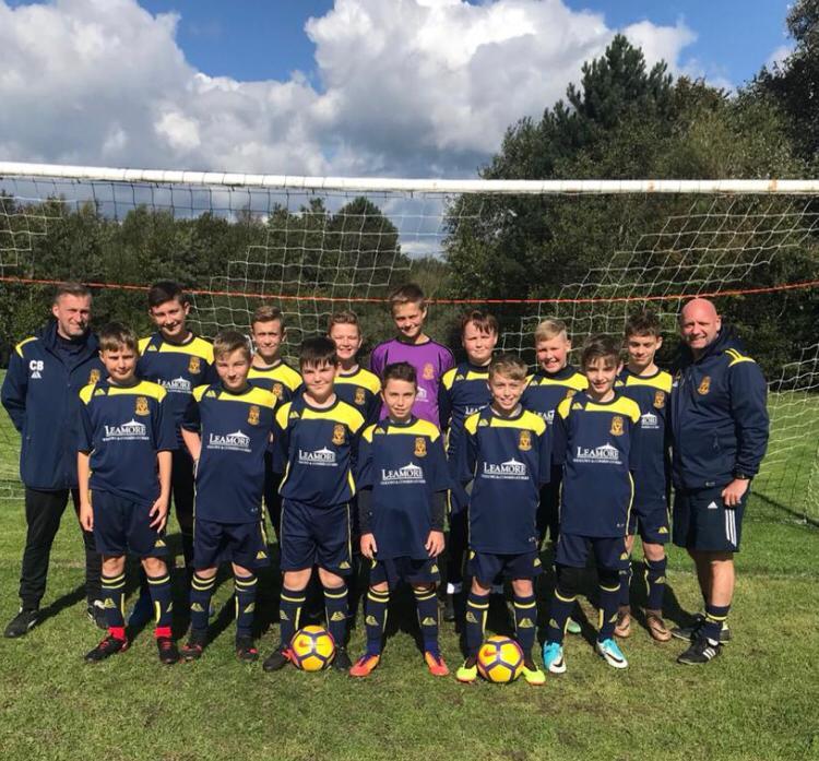 Hawkins Eagles U13s team, Cheslyn Hay, Walsall