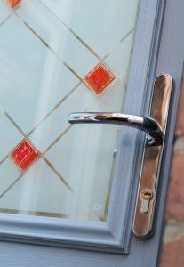door handle close-up